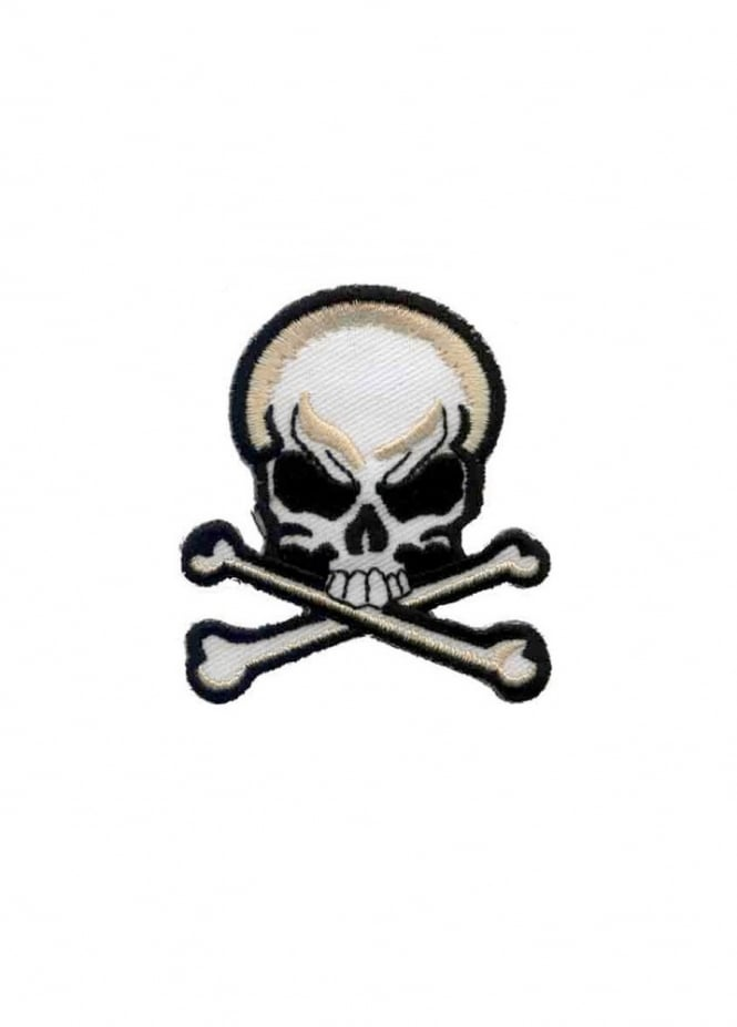 Attitude Clothing Skull & Crossbone Patch