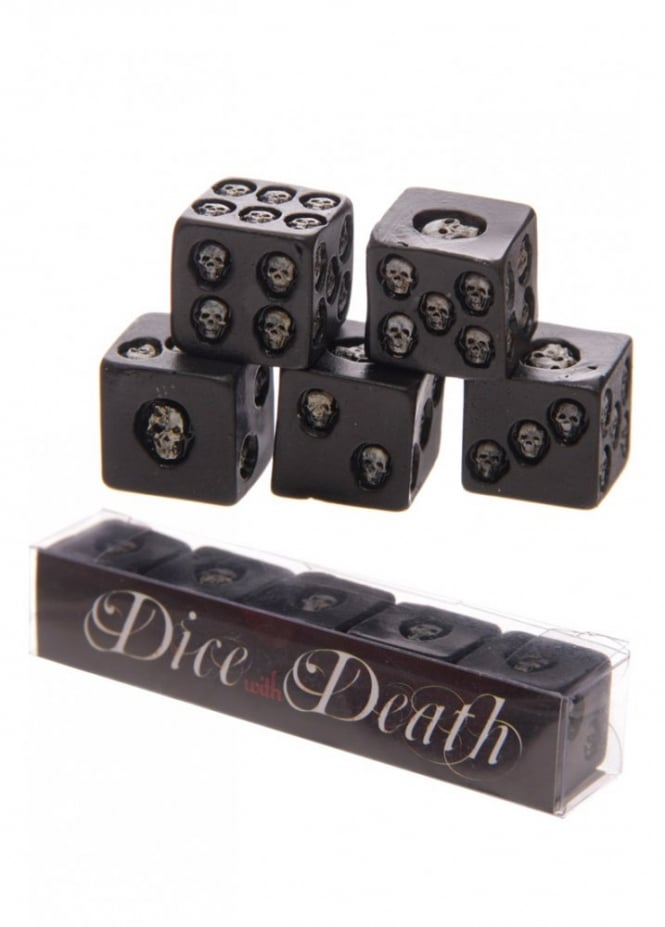 Attitude Clothing Skull Dice With Death Set