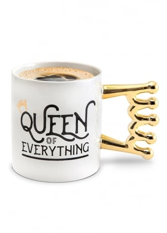 Attitude Clothing The Queen of Everything Coffee Mug