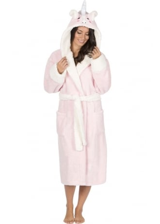 Attitude Clothing Unicorn Dressing Gown