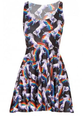 Unicorn Kawaii Skater Dress