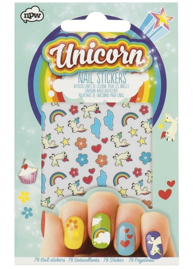 Attitude Clothing Unicorn Nail Stickers
