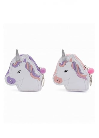 Attitude Clothing Unicorn Purse Keyring