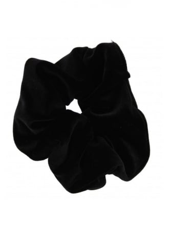 Attitude Clothing Velvet Scrunchie