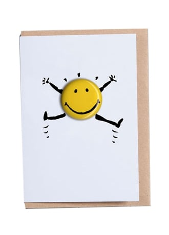 Attitude Clothing Wahoo! Happy Days Greetings Card