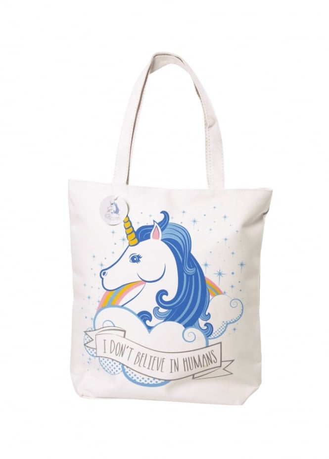 Attitude Clothing Zipped Unicorn Bag