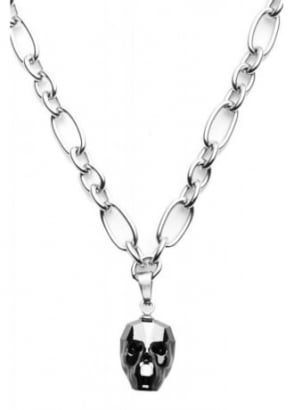 Austrian Crystal Skull Necklace