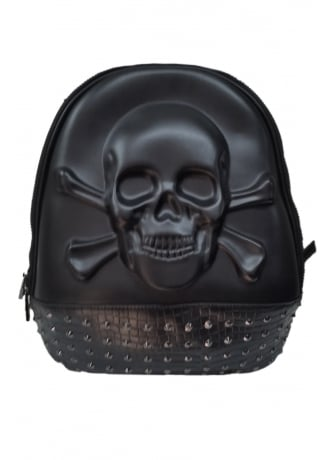 Banned Apparel 3D Skull Backpack