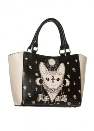 Banned Apparel Bastet Tote Bag
