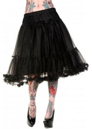 Black Long Petticoat