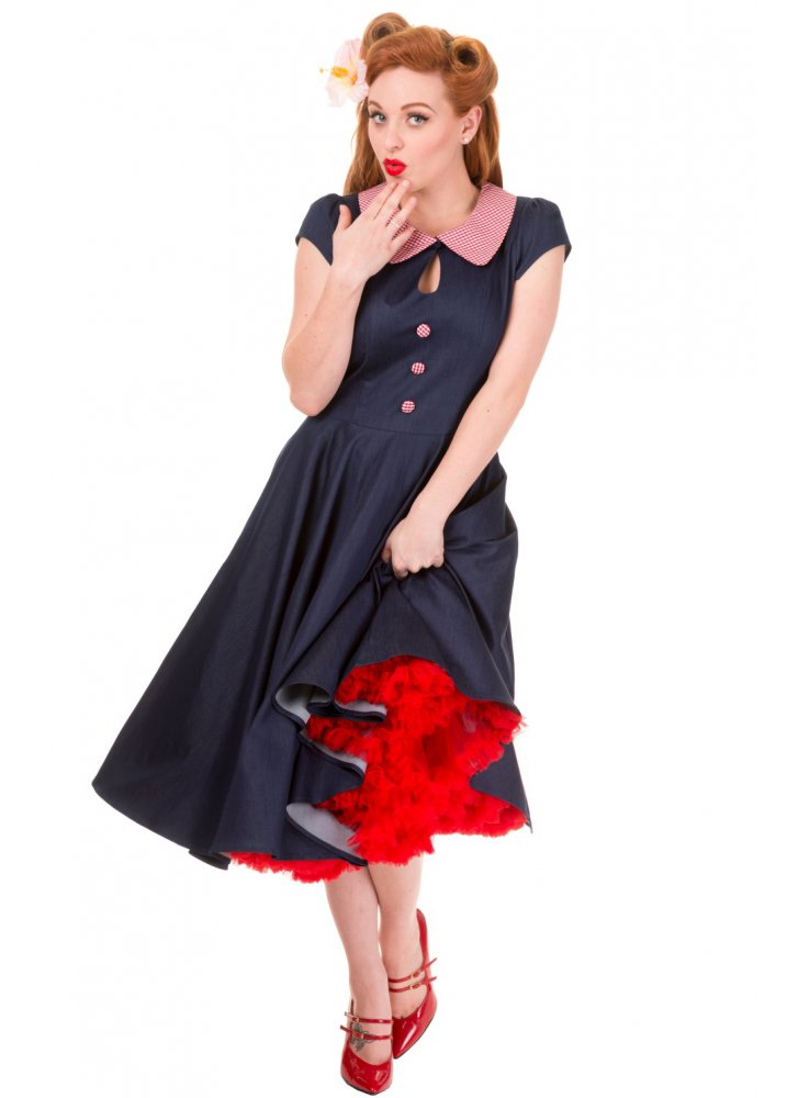 banned apparel blueberry hill dress attitude clothing