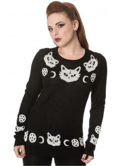 Cat Knit Jumper