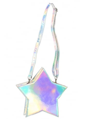 Banned Apparel Celeste Holographic Bag