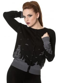 Dark Skyline Knitted Jumper