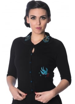 Free As A Bird Retro Cardigan