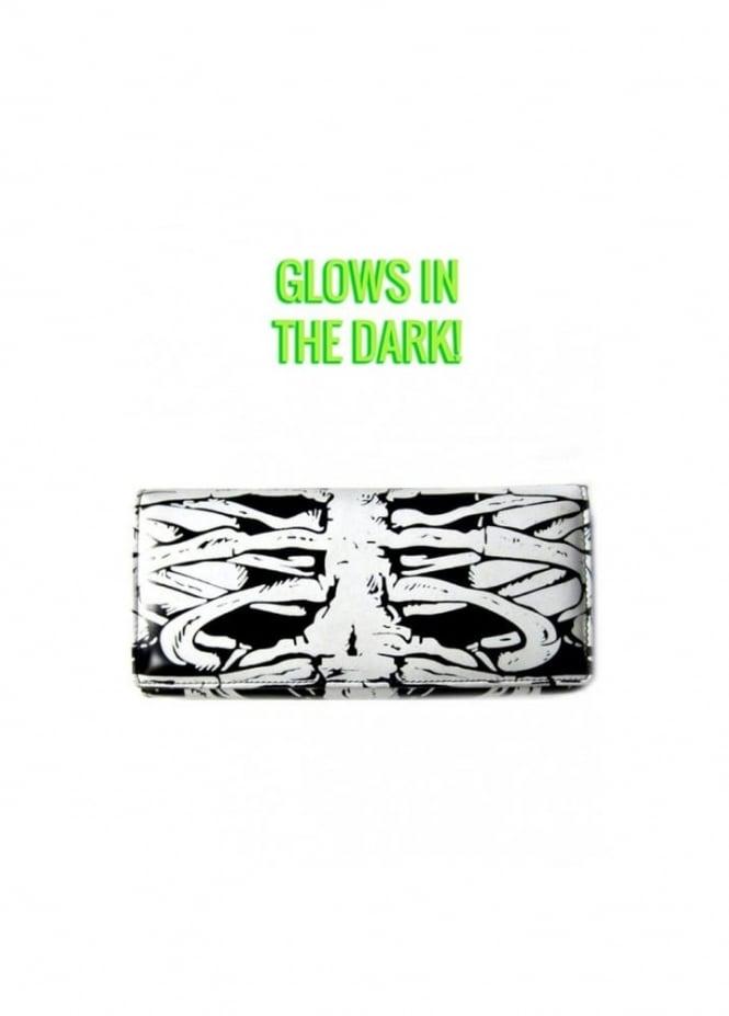 Banned Apparel Glow In the Dark Skeleton Wallet