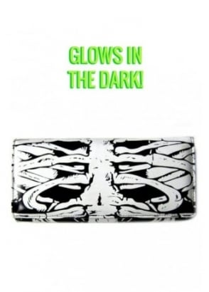 Glow In the Dark Skeleton Wallet