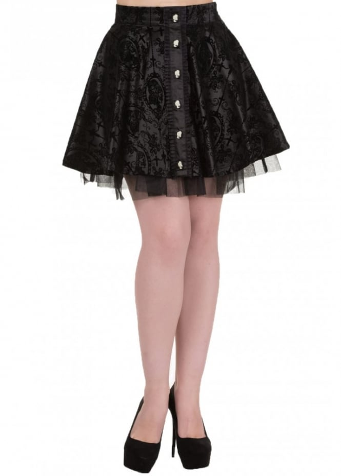 Banned Apparel Gothic Skirt