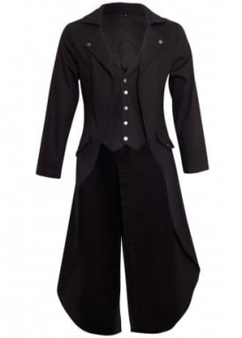 Gothic Victorian Tailcoat Jacket