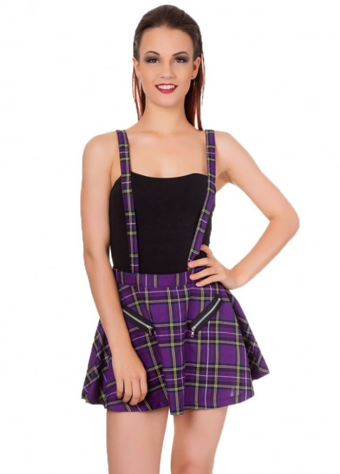 Banned Apparel Highlife Pinafore Skirt