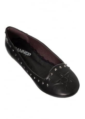 Banned Apparel Kiss Me Deadly Gothic Shoes
