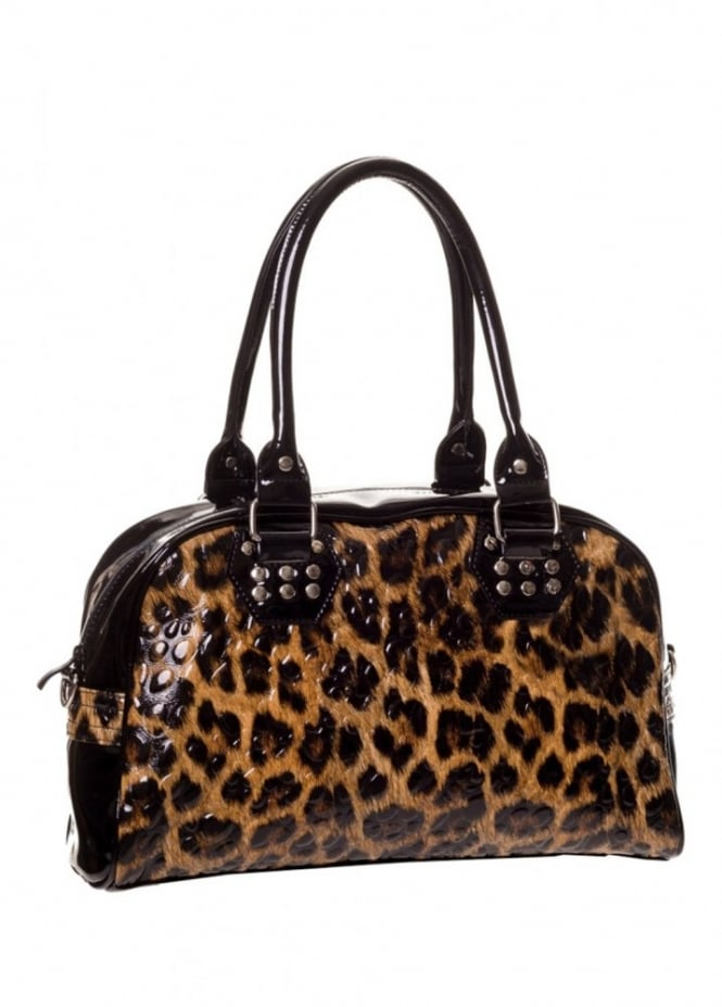Banned Apparel Leopard Handbag Attitude Clothing