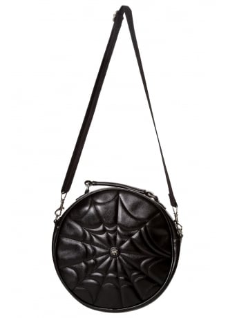 Banned Apparel Malice Gothic Round Bag