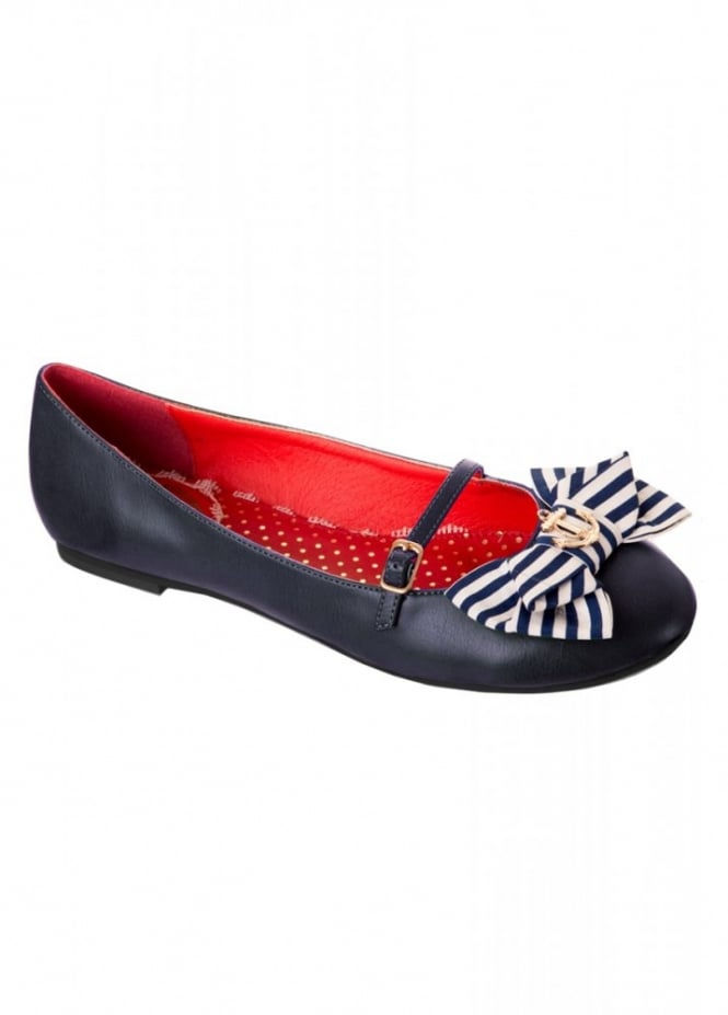 Banned Apparel Mary Jane Flat