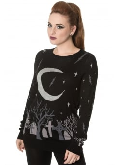 Moon Knit Gothic Jumper