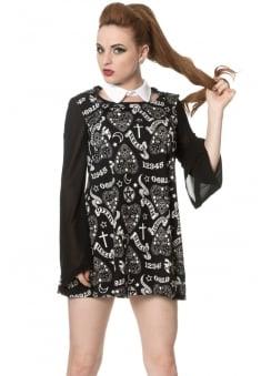 Moonlight Silence Collar Dress