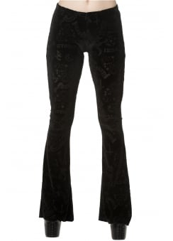 Moonlight Silence Flare Trousers