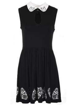 Moonlight Silence Keyhole Dress