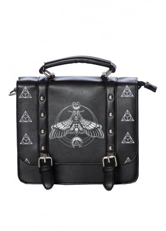 Banned Apparel Moth Small Satchel Bag