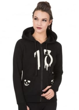 Nine Lives Fleece Hoody