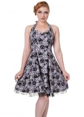 Nine Lives Halter Dress