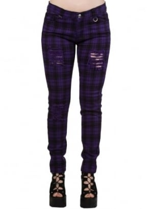 Purple Move On Up Trousers