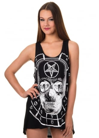 Banned Apparel Travelling Alone Gothic Vest