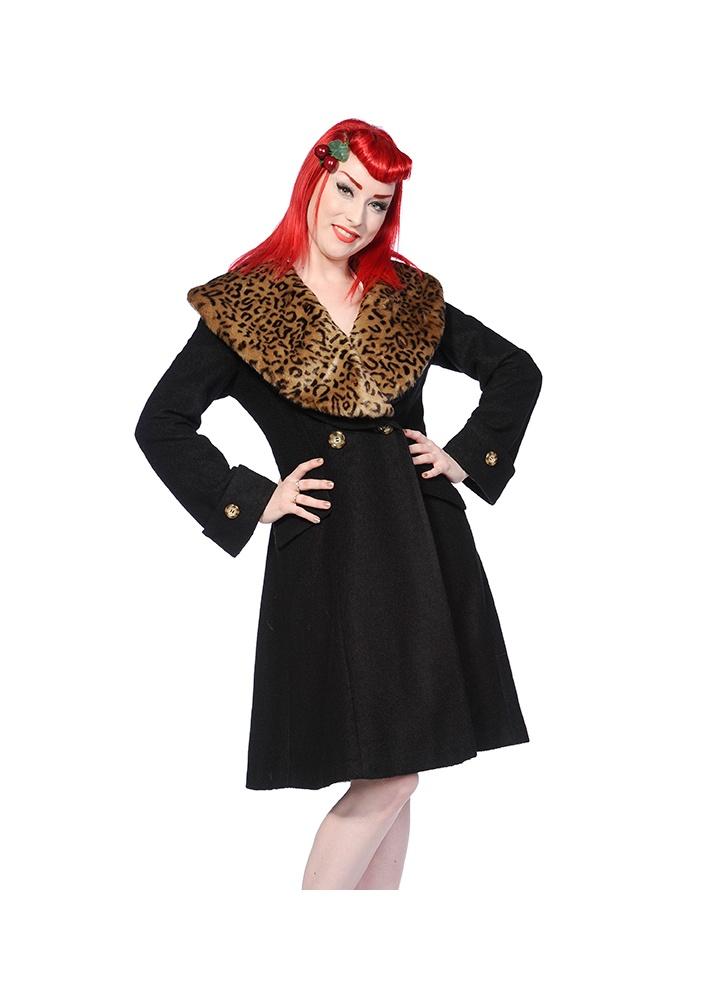 banned apparel vintage coat black attitude clothing