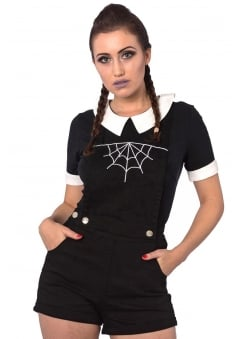 Webb Gothic Dungarees