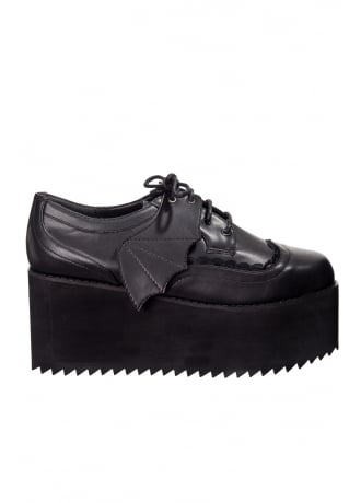 Banned Apparel Willow Gothic Platform Brogues