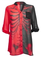 Bad To The Bone Blouse