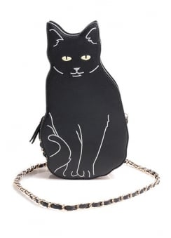 Black Cat Shoulder Bag