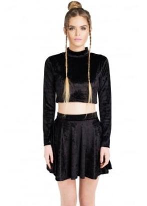 Black Velvet Co-Ord