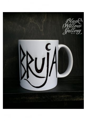 Black Willow Gallery Bruja Mug