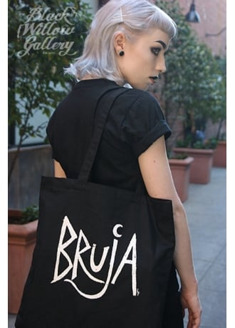 Black Willow Gallery Bruja Tote Bag