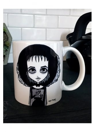 Black Willow Gallery Lydia Deetz Mug