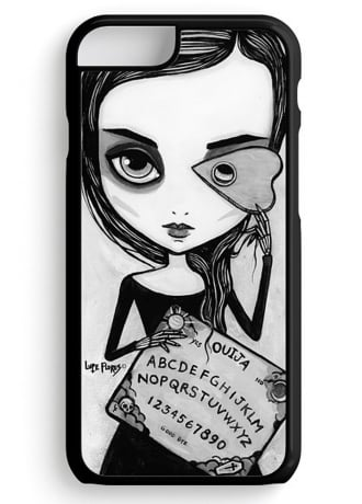 Black Willow Gallery Ouija Girl Phone 6 Case