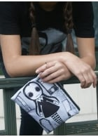 Wednesday Addams Cosmetic Bag