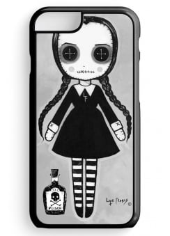 Wednesday Addams Doll iPhone 6 Case