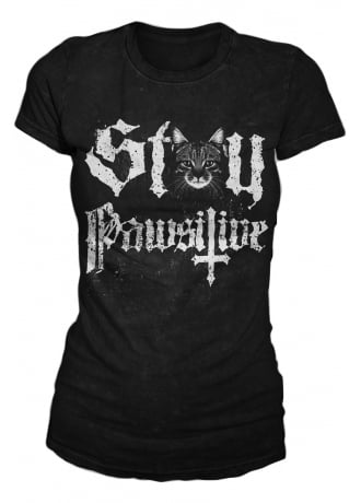 Blackcraft Cult Stay Pawsitive Tee